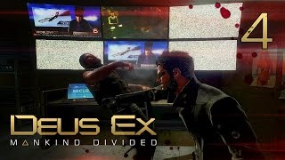 Отар Ботковели ● Deus Ex: Mankind Divided #4 [PC] 1080p60 Max Settings