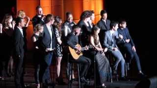 Glee Cast Tribute to Jane Lynch @ Trevor Live 12/8/13 (Full Introduction & Performance)