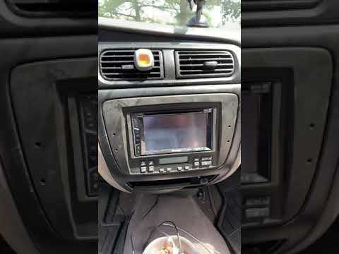 2000 Ford Taurus Using Factory Ac Unit With Double Din Dash Kit