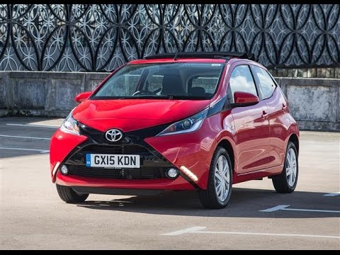 toyota aygo 2015 car review youtube. Black Bedroom Furniture Sets. Home Design Ideas