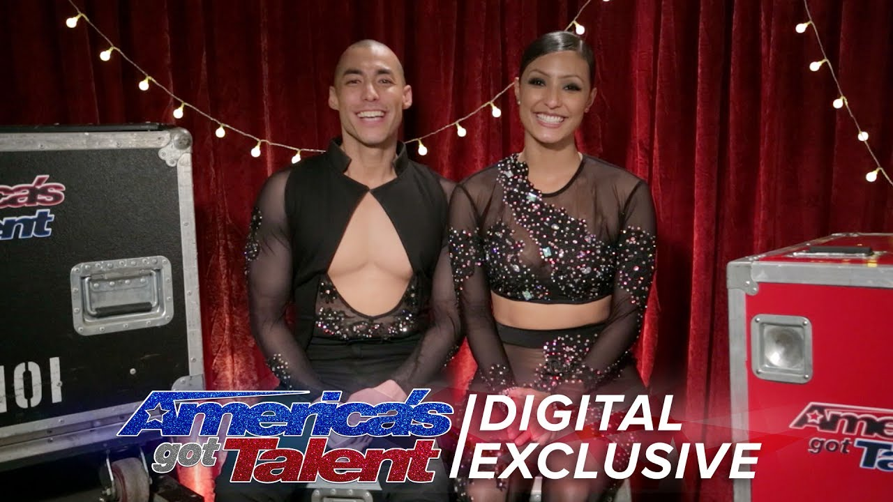 Junior and Emily Explain Getting Emotional on Stage - America's Got Talent 2017