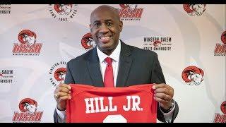 Cleo Hill Jr. named WSSU Basketball Coach