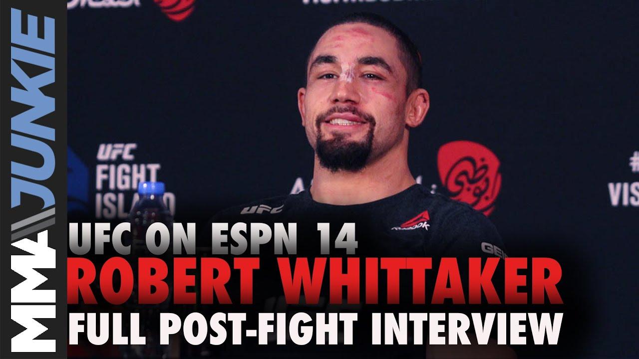 Ex-UFC champ Robert Whittaker wins decision over Darren Till