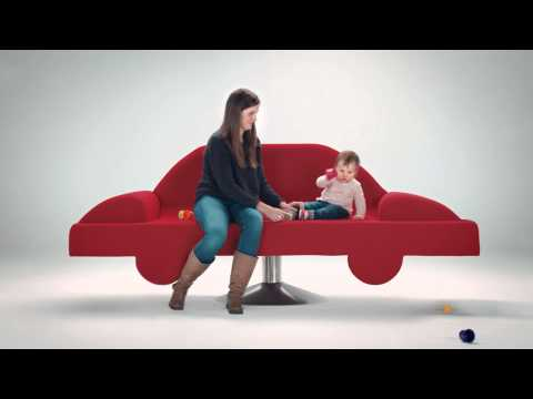 So easy selling your car to We Buy Any Car, even a toddler could do it - TV advert