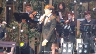 2016 성시경 축가콘서트 thinking out loud / somessam