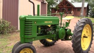 How To Start a 1940 John Deere Model B