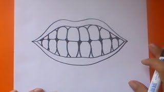 Como Dibujar Una Boca Paso A Paso 2 How To Draw A Mouth 2 Youtube