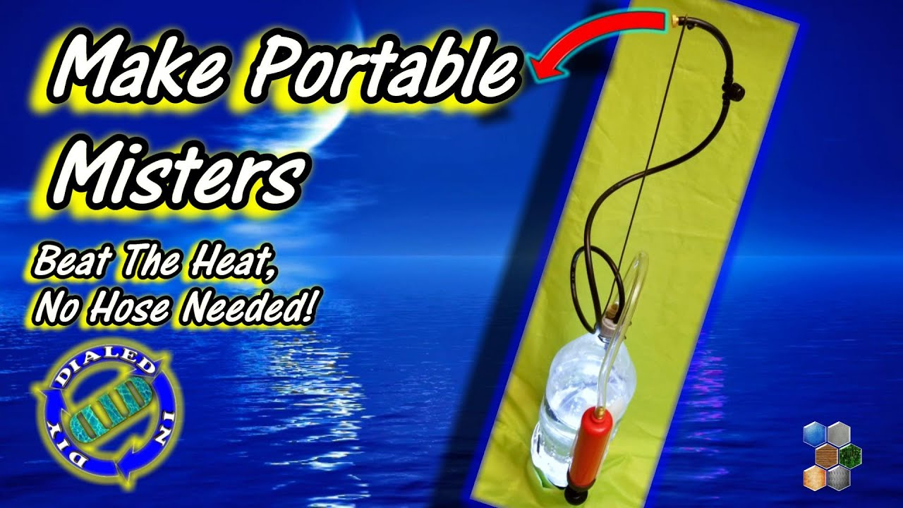 Make Portable Cooling Misters - No Hose Needed to Beat the Heat