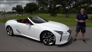 Does the NEW 2021 Lexus LC 500 convertible disappoint?