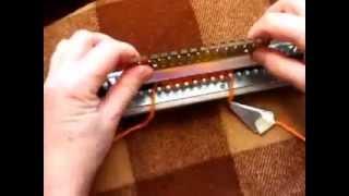 Урок 6. Учимся вязать на Ивушке - вязание резинки 1х1