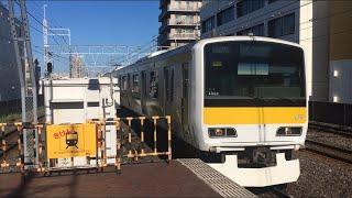【そうぶせん】中央・総武緩行線 E231系、総武快速線 E217系@本八幡駅