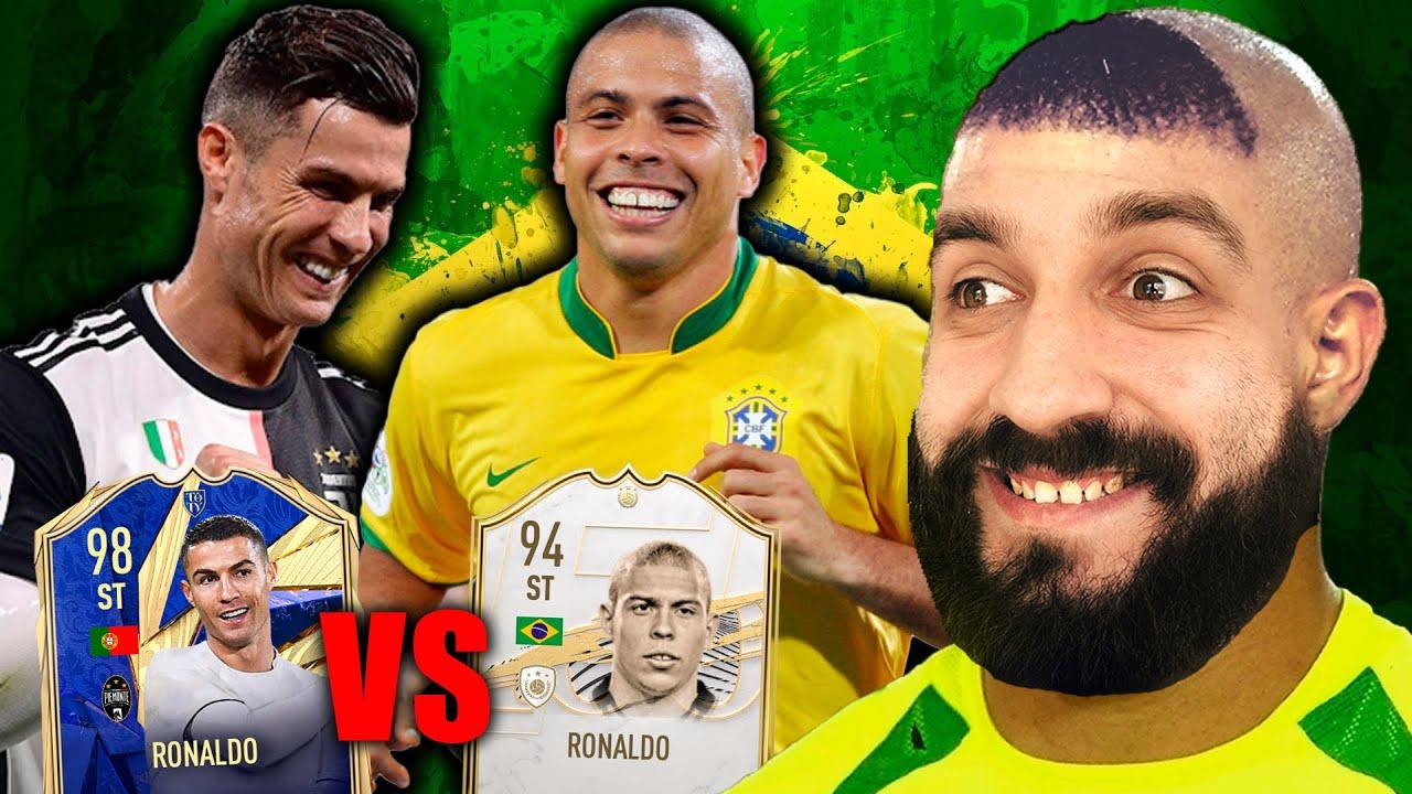 ЗУБАСТИК РОНАЛДО vs РОНАЛДУ / КТО КРУЧЕ В FIFA 21?