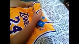 #02 - UNBOXING JERSEY NBA - LAKERS REVIEW ALIEXPRESS
