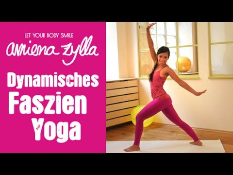 Dynamisches Faszien Yoga mit Amiena Zylla - 15 Minuten Programm