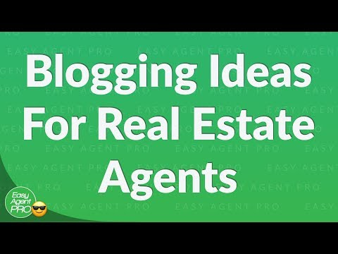 Let's Talk About Real Estate Blogging For Total Beginners