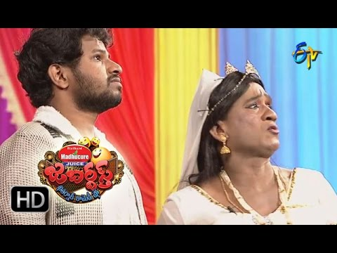 Hyper Aadi Raising Raju Performance | Jabardasth | 10th November 2016 | ETV  Telugu