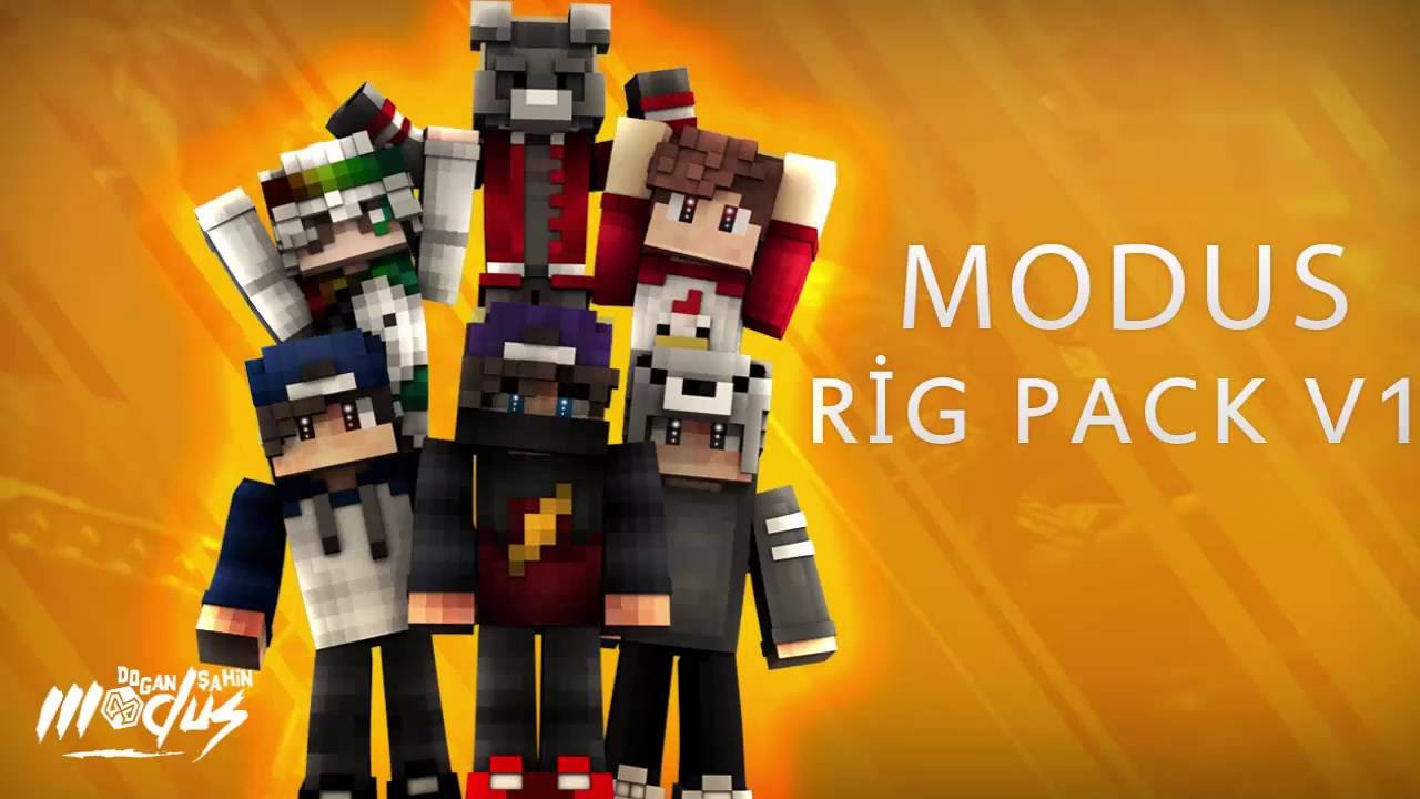 FREE! Minecraft Rig PACK - CINEMA 4D RIG | Modus  Free Download