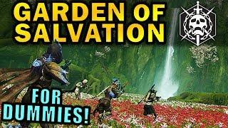 Destiny 2: GARDEN OF SALVATION RAID FOR DUMMIES! | Complete Raid Guide & Walkthrough!