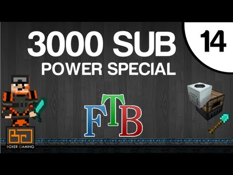 FTB - #14 - 3k Subscribers - Magmatic Engines, Lava, Powerrrrrr! [MineCraft] [Feed The Beast]