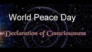World Peace Day 2014: Awaken Consciousness as One