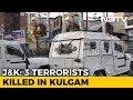 3 Terrorists Shot Dead, 2 Soldiers Injured In Encounter In Kashmir