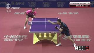 2016 China Super League: XU Xin vs ZHOU Yu [Full Match/Chinese|HD]