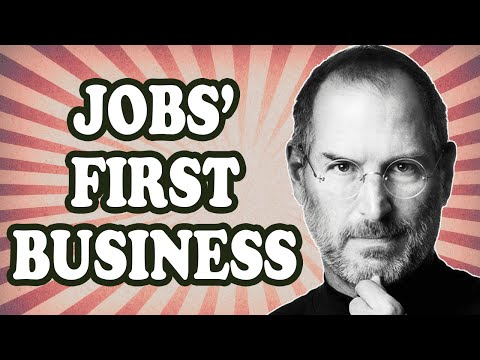 Steve Jobs' Illegal First Business