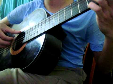 Con đường mưa guitar