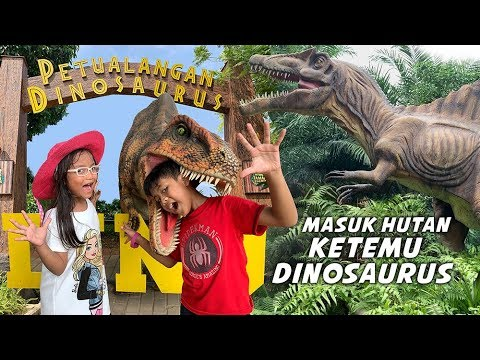 Petualangan Dinosaurus Di Taman Legenda TMII, Pixel Ketemu Banyak Dinosaurs
