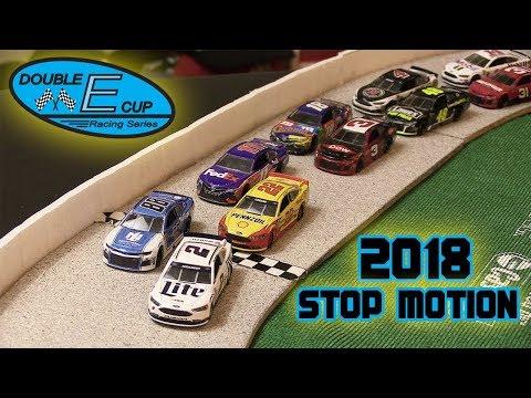 NASCAR Stop Motion 2018 - DECS Sprint Race