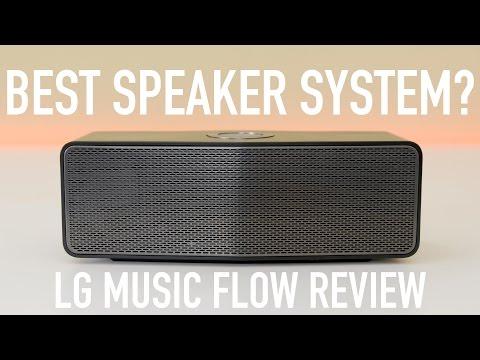 Best Speaker System? LG Music Flow Review!