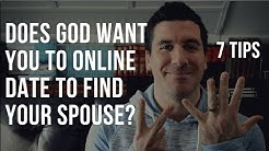 Christian Online Dating Advice: Does God Want You to Online Date to Find a Christian Spouse? 7 Tips