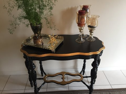 D.I.Y Restoration Antique Table//Entry Table//Home Decor