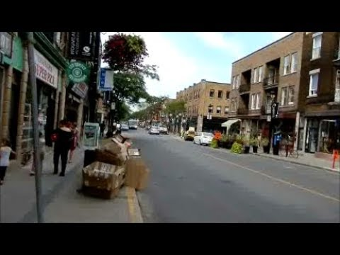 WALKING WELLINGTON STREET IN VERDUN MONTREAL