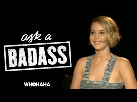 "Jennifer Lawrence on Elizabeth Banks' ""Ask a Badass"""