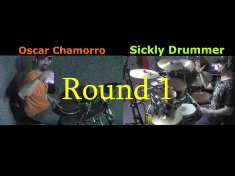 OSCAR CHAMORRO VS SICKLY DRUMMER (DRUM BATTLE)