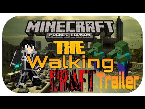 Minecraft PE - The Walking Craft - Trailer