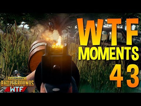 PUBG  WTF Funny Moments Highlights Ep 43 (playerunknown's battlegrounds Plays)