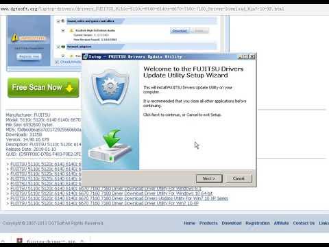 FUJITSU 5110c 5120c 6140 6140z 6670 7160 7180 Driver Download Driver Utility For Win7 10 XP