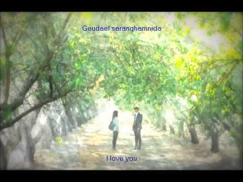 The Heirs OST Part 2 lyrics   'Love is   ' Park Jang Hyun & Park Hyun Kyu ENG ROM