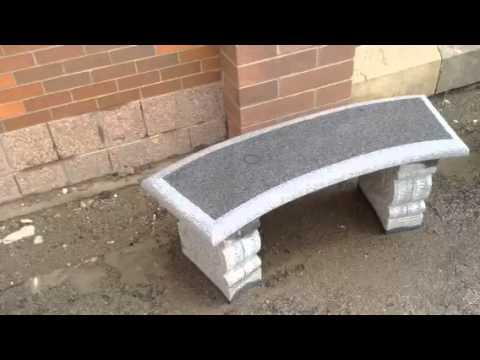 Granite Park Bench