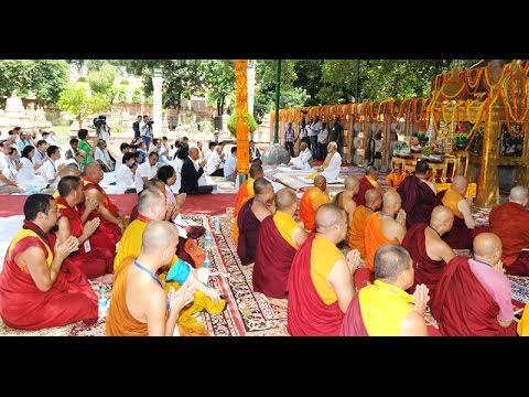 PM Modi at Bodh Gaya