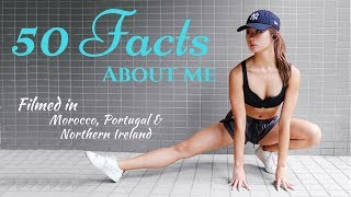 50 Facts about Me (Job, Height, Weight, Boyfriend, Tattoos, Cameras) 關於我的50個問題