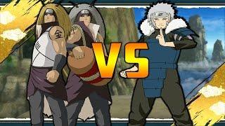 Kinkaku and Ginkaku Vs Tobirama Naruto Shippuden Ultimate Ninja Storm Revolution Mods