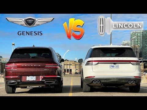 Genesis GV80 3.5T vs Lincoln Aviator, new king in town!