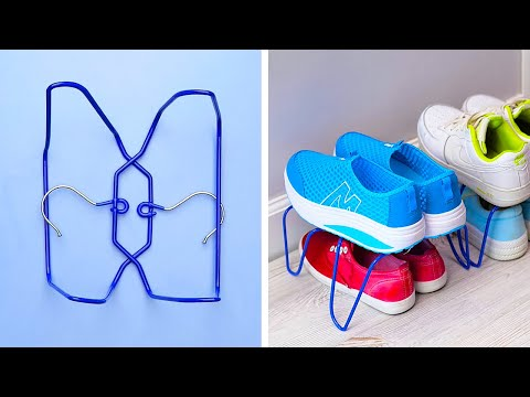 35 WIRE HANGER TRICKS YOU NEED EVERYDAY
