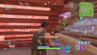 Fortnite live:getting dubs