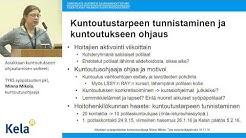 TYKS syöpätautien pkl, Minna Mikola, kuntoutusohjaaja