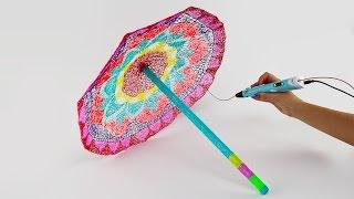 3D Pen Creations | Rainbow Umbrella DIY | 3D Pen Art