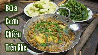 Đặt Bẫy Chuột Đồng ● Bữa Cơm Chiều Trên Sông Nước Miền Tây | Nét Quê #24